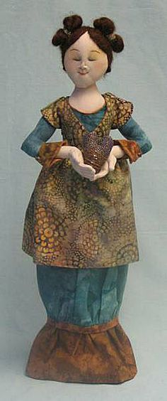 Cloth Doll Patterns by Leslie Molen
