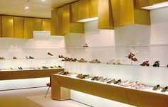 Shoe store at Oberpollinger Department Store