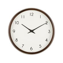 Champagne Beech Clock - Brown