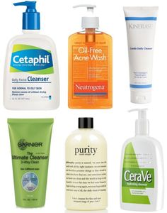 Best acne prevention products - use Cetaphil & philosophy... as well as some of the others mentioned...