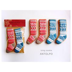 (13) Antolpo アントルポ icing cookie