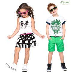 Tendências das mais atuais na coleção Alto-Verão da Malwee Brasileirinhos, pra deixar os pequenos muito fashions! #modamalwee #brasileirinhos #lookdodia #kids