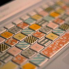 Onze Suus magazine archief mei-juni 2014_washi masking tape toetsenbord