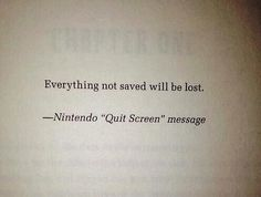 everything not saved will be lost - Recherche Google
