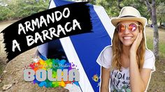 ARMANDO A BARRACA!!! - Camping em Arraial do Cabo