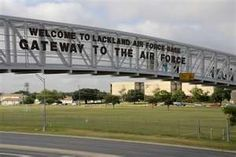 Lackland AFB, San Antonio, Texas. #USAF U S Air Force-oh the memories! Loved it there...