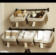 Alternate Bathroom storage ideas