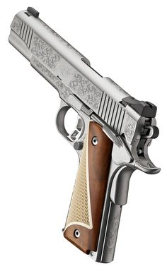 Kimber's Stainless™ II (Classic Engraved Edition), .45 ACP from the 2015 Summer Collection | Click here: http://www.kimberamerica.com/new-for-2015/kimber-stainless-ii-classic-engraved-edition