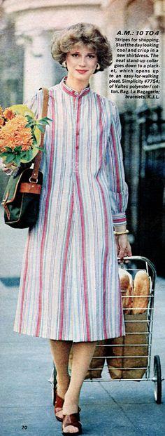 Ladies Home Journal - January, 1977 1977 Fashion, January, Journal, Lady