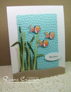 Sum2010CAS5 Water theme by fionna51 - Cards and Paper Crafts at Splitcoaststampers