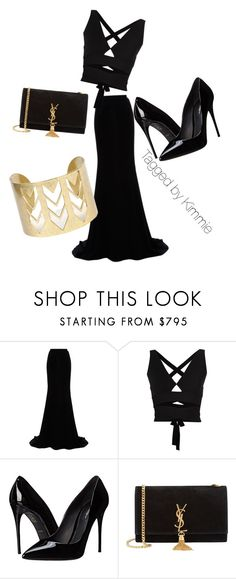 """""""Untitled #158"""" by taggedbykimmie15 on Polyvore featuring Naeem Khan, Proenza Schouler, Dolce&Gabbana, Yves Saint Laurent, women's clothing, women's fashion, women, female, woman and misses"""