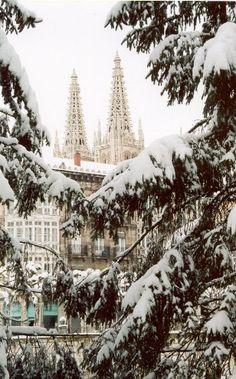 Catedral de Burgos con nieve - Buscar con Google