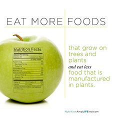If you don't recognize an ingredient, your body won't either. Eat more whole foods. njchiropractors.com