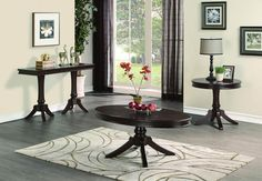 Homelegance 2615DC-04 Marston Collection Color Dark Cherry