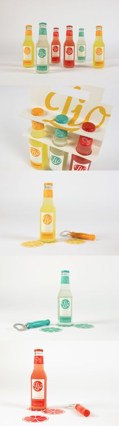 Lio-Premium Limonade...I just cannot get enough of the colors used.  They are so fun and vibrant.