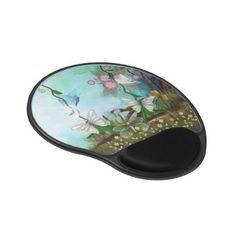 Fae Lake Fantasy Art Gel Mouse Mat