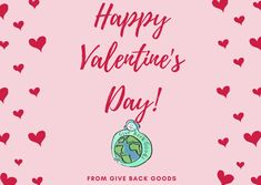 @givebackgoods posted to Instagram: Happy Valentine's Day from Give Back Goods! . . Show love to the planet with a sustainable purchase at GiveBackGoods.com (link in bio, shipping is always included). . . #GiveBackGoods #GiveBack #gogreen #ecofriendly #zerowaste #sustainability #sustainable #eco #nature #environment #green #gogreen #savetheplanet #fairtrade #handmade #organic #climatechange #fightclimatechange #earth #bethechange #recycle #reuse #reducewaste International Holidays, Giving Back, Save The Planet, Happy Valentines Day, Reuse, Sustainability, Environment, Earth, Organic
