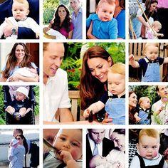 Happy 1st Birthday, Prince George Alexander Louis!