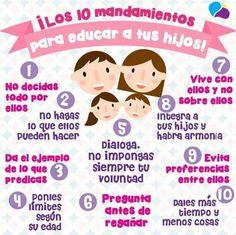 10 reglas importantes para educar a tus hijos