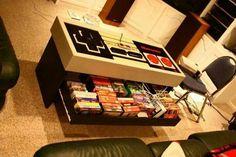Custom Built Storage Game Table