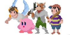 Nintendo Pixel Art Animations Created by Tom... | it8Bit