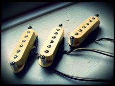 Creamery Handwound Strat-90 (P90 Design) Stratocaster Pickups