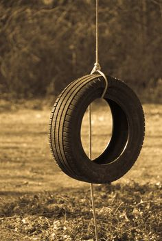 tire swing-if you did not have one of these as a kid you never had a real childhood!