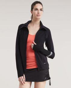 Rona Zip-Up Jacket by Splits59    Jade will be carrying Splits59 very soon.  Great line, great fit.
