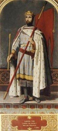 François Édouard Picot: Louis VII, roi de France