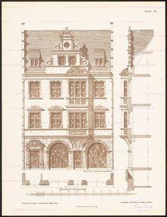 Ansicht, Fassadenschnitte vertikal, horizontal and Aufbewahrung/Standort:
