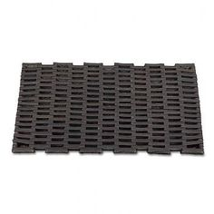 fa59c5d44a58 Plain Link Recycled Tire Door Mat - Small 13.5x28 by Flat Tire Décor.  19.99