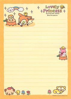 Cute Kawaii Stationery scans | Flickr - Photo Sharing!