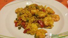 Paella Bimby di pesce, portiamo un po' di Spagna in casa! La cottura è a varoma ma possiamo ripassare tutto in padella ;) Ingredienti per 6 persone: ...