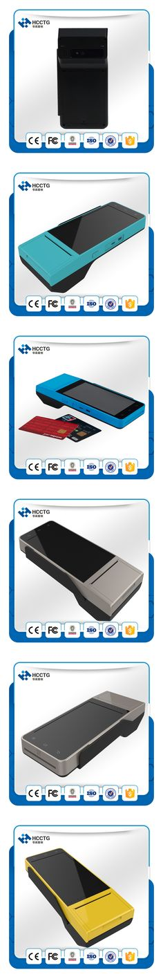 Touch Screen Android POS Terminal SIM SAM Slot Handheld Tablet With 58mm Thermal Printer HCC-Z90