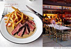 yummy steak at MEDIUM RARE