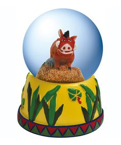 The Lion King Pumbaa Water Globe | zulily