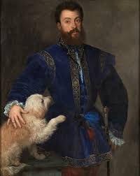 TIZIANO, ritratto di Federico Gonzaga, 1525, Madrid