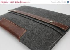 Big Sale 15 OFF iPad Mini Leather Case iPad by WillowandCompany, $38.25