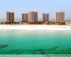 Portofino Resort,Pensacola, FL - Thanks my good friend, I'm addicted! Places In Florida, Florida Hotels, Florida Travel, Florida Beaches, Hotels And Resorts, Pensacola Beach Hotels, Pensacola Florida, Portofino Resort, Island Resort