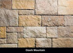 castle stone veneer ozark mountain - Faux Stone Veneer