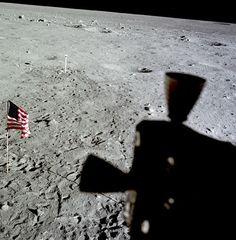 U.S. Flag from Lunar Module
