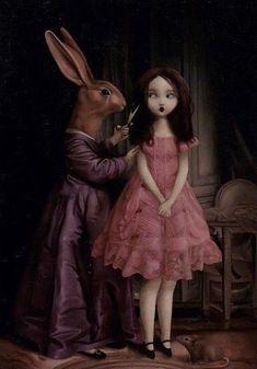 Arte Horror, Horror Art, Arte Lowbrow, Creepy Pictures, Arte Obscura, Wow Art, Creepy Art, Hippie Art, Pop Surrealism