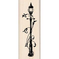 Inkadinkado® | Lamp Post - not the art for the original lamp post, but I like it.