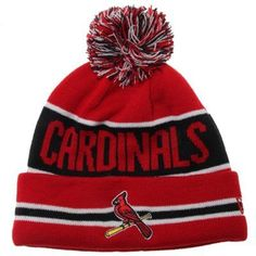 quality design 3e522 0a170 New Era St. Louis Cardinals The Coach Cuffed Beanie - Navy Blue Red
