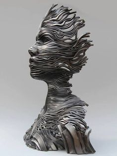 Gil Bruval - Texas sculpture Vivant, ondulations, fluidité.
