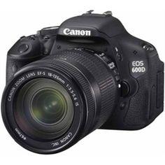 Canon EOS Rebel Kit digital SLR camera with zoom lens & HD movie mode at Crutchfield Nikon D5200, Dslr Nikon, Cameras Nikon, Camera Lens, Leica Camera, Film Camera, Reflex Camera, Photoshop Elements, Actions Photoshop