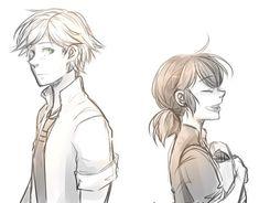Ela é apenas uma amiga ou ela é mais que uma amiga.O que você acha, Adrien!?