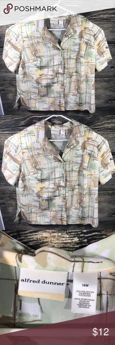 83fd1e56 EUC Alfred Dunner 16W blouse top EUC Alfred Dunner blouse top C= 24 1/