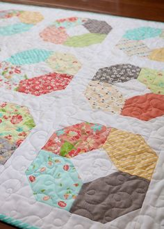 Charming Lucy a free charm pack quilt pattern from Andy of A Bright Corner