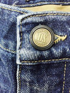 #Desertstudio  #jeans  #denim  #button